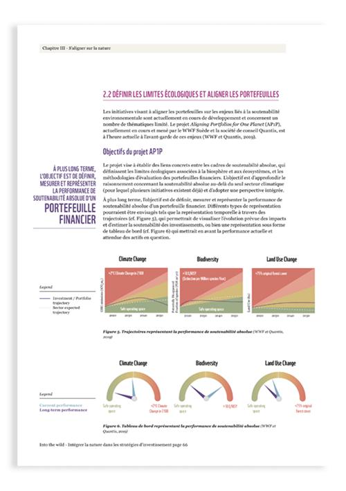 Page interne gauche du rapport