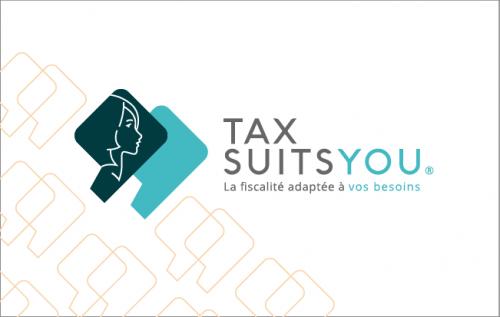 Carte de visite Tax Suits You recto
